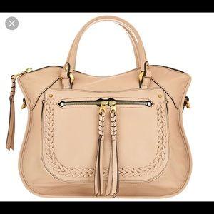 ORYANY leather Sarah satchel